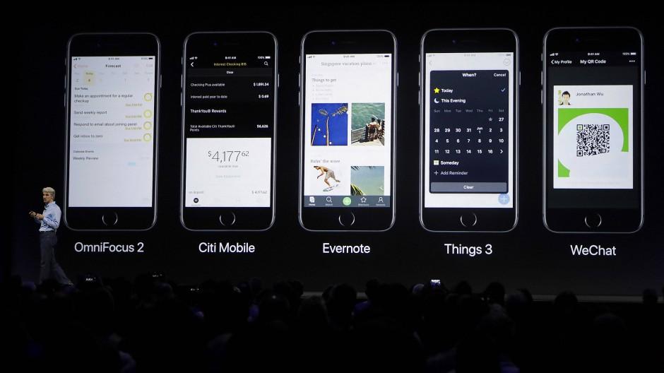 """""""Die Ära des Smartphones hat gerade erst begonnen"""", glaubt Apple-Chef Tim Cook."""