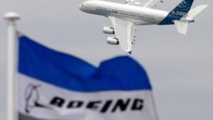 Airbus und Boeing mit Sorgen in Le Bourget