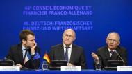 Berlin und Paris wollen Bargeldgeschäfte zurückdrängen