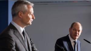 Deutschland und Frankreich bereit zu 21 Prozent globaler Mindeststeuer