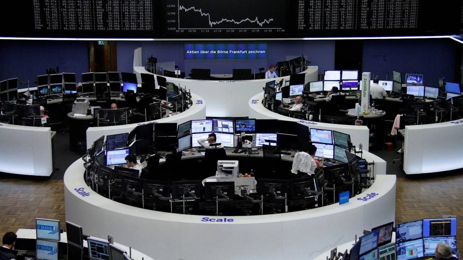 Gewinnmitnahmen sorgen an der Börse für Verluste.