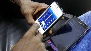Finanzplatz Monrovia: In Liberien bezahlen viele nur mit dem Handy.