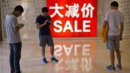 Der Konsument soll es richten: Chinas Führung will die Wirtschaft umbauen.