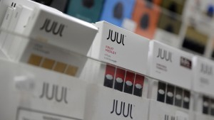 Der Wert des E-Zigaretten-Herstellers Juul verfällt