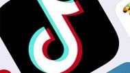 Symbol der Tiktok-App