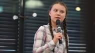 Greta Thunberg ist viel unterwegs.