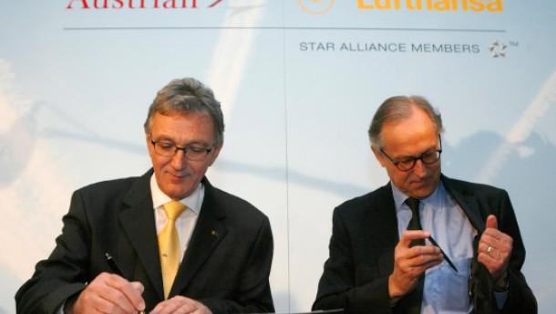 Lufthansa übernimmt Austrian Airlines