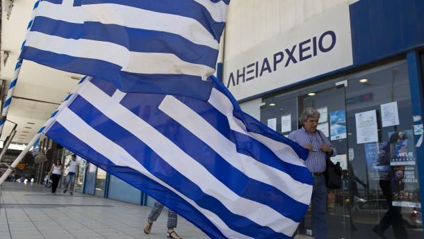 Die meisten Griechen sagen: Können Steuern nicht zahlen