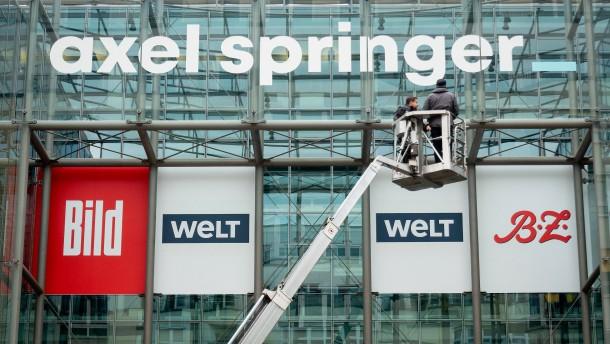 Axel Springer stutzt Redaktionen