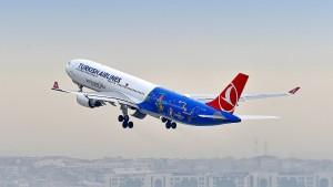 Amerika belegt Turkish Airlines mit Flugverbot