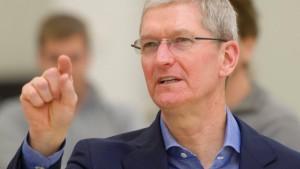 Apple-Chef will mit Obama sprechen