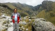 Das ist der Mann, der gegen RWE vor Gericht zieht: Saul Luciano Lliuya aus den Anden.