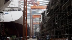 Staatshilfe für die Hegemann-Werften