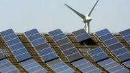 Die Erzeugung von Solarstrom ist in diesem Jahr um ein Prozent gesunken.