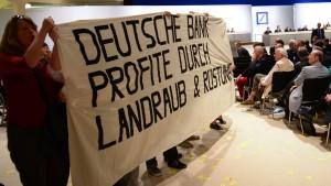 Deutsche Bank schränkt Agrarspekulation ein