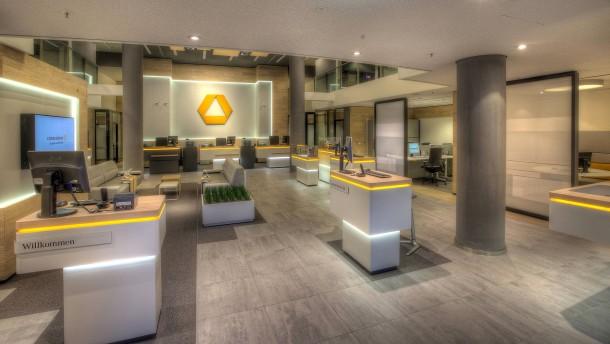 Commerzbank eröffnet neue Flagship-Filialen