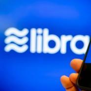 Die Logos des Internetkonzerns Facebook und der von ihm vorgestellten globalen Digitalwährung Libra.