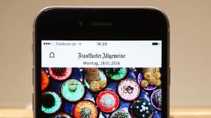 Digitale Reichweite der FAZ stark gestiegen
