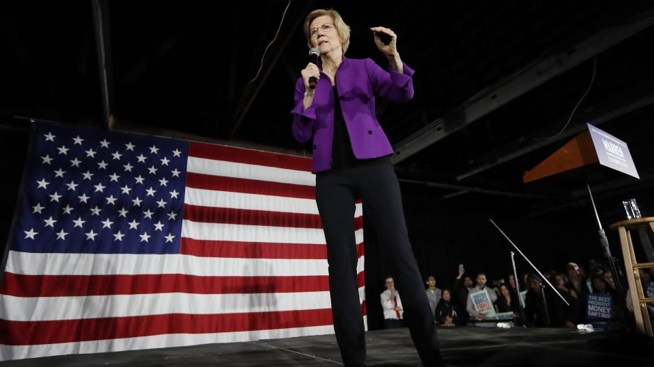 Elizabeth Warren auf Wahlkampftour in New York