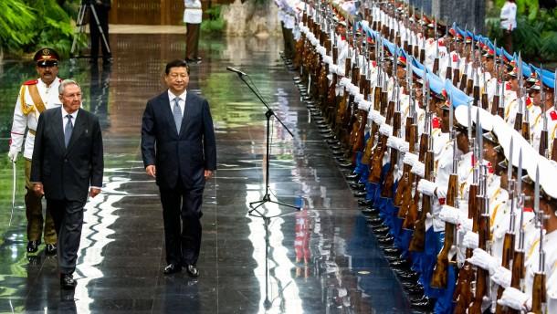 Wie China seine Macht in Südamerika vergrößert