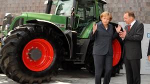 Merkel verspricht Bauern Steuervorteile