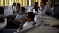 Ganz schön international: An der privaten Management-Hochschule ESMT können Studenten seit gut einem Jahr mit Bitcoin und anderen Kryptowährungen bezahlen.