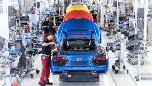 Weiteres Audi-Werk steht still