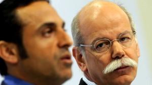 Spekulationen um Daimler-Großaktionär Abu Dhabi