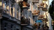 Auch hier in Hamburg ist dem IW zufolge zur Miete wohnen teurer als im Eigentum.