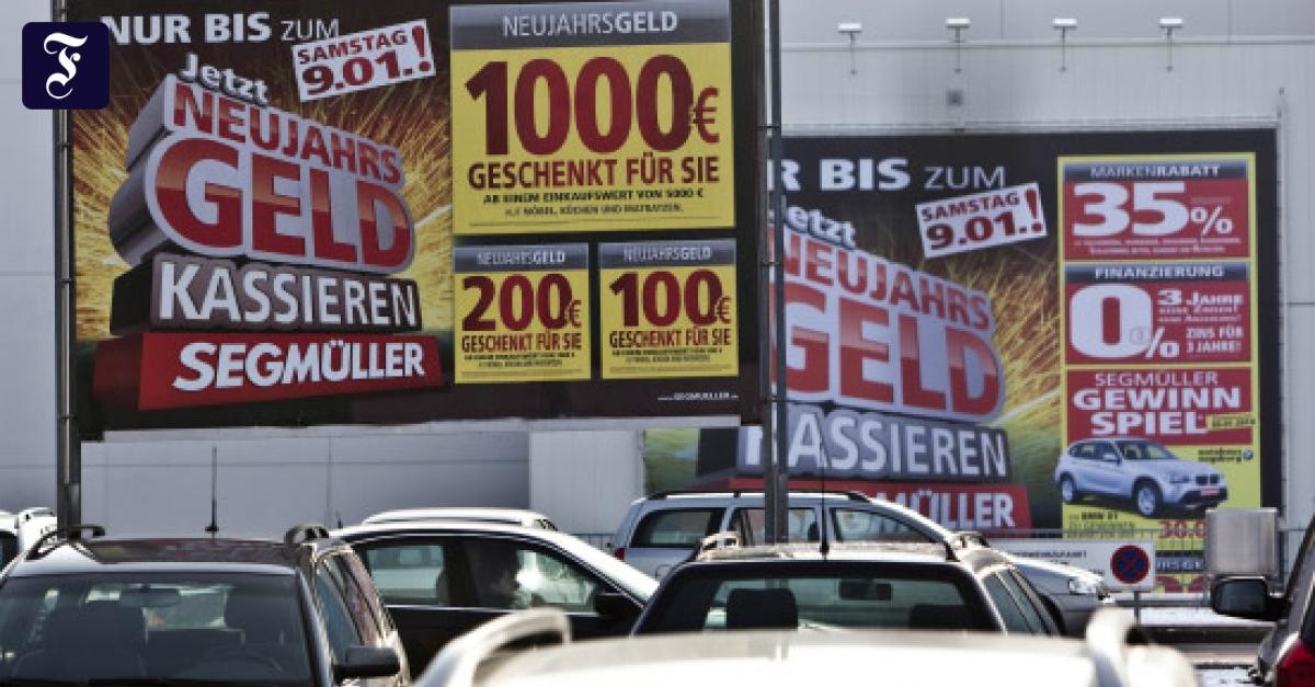 Möbelhäuser Sofas Zum Schleuderpreis Unternehmen Faz