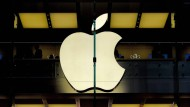 Die Aktien des Internetriesen Apple verloren innerhalb einer Woche zehn Prozent.