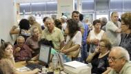Griechische Rentner bekommen Weihnachtsgeld