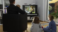 Familienvater mit Kindern: Eine Versetzung fällt oft schwer, wenn andere mitziehen müssen.