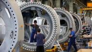 Auch im Maschinenbau läuft es derzeit nicht gerade rund.