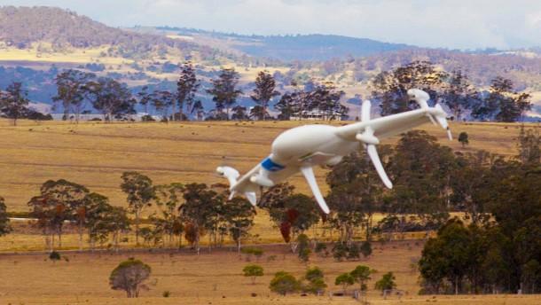 Google testet Burrito-Lieferung mit Drohnen
