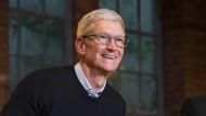 Apple-Chef Tim Cook an der Universität Oxford.