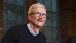 """Apple-Chef Cook: """"Wir sind der größte Steuerzahler der Welt"""""""