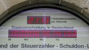 Staatsschuld erstmals über 1.500.000.000.000 Euro