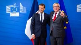 """Wie eine """"Neugründung Europas"""" aussehen könnte"""
