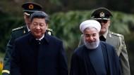 Chinas Präsident trifft iranischen Kollegen