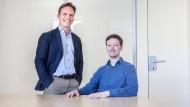 Die Gründer: Lukas Naab (links) und Matthias Bay