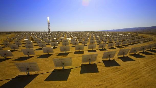 Regierungen verhandeln über Wüstenstrom-Projekt