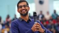 Sundar Pichai, Google-Chef, gehört zu den bestbezahlten Managern der Tech-Branche.