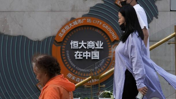 Sorgen um Chinas Immobilienriesen Evergrande belasten Märkte