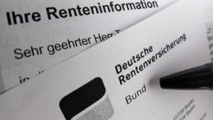 Rentenbeitrag könnte 2014  sinken