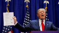 Chronik des Wahlkampfs von Donald Trump