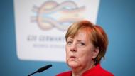 Die G20-Präsidentschaft sei keine ganz einfache Arbeit, so Merkel.