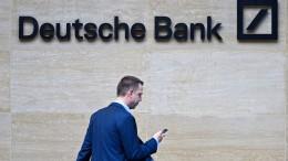 EZB widerspricht Boni-Plänen der Deutschen Bank