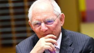 Schäuble erkennt Gemeinsames mit seinem neuen Kollegen