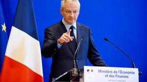 Le Maire will mit Digitalsteuer dreistelligen Millionenbetrag einnehmen